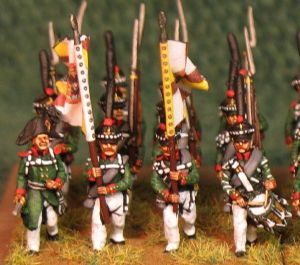 15mm, Napoleonic Russian Grenadiers, Tauride AB 24 figures
